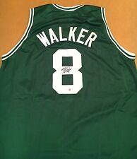 Kemba Walker Boston Celtics Autographed Signed Jersey XL COA