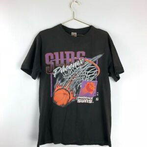 Vintage 90s NBA Phoenix Suns Basketball Team 2021 T Shirt Vintage Men Gift Tee