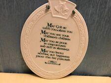 "Oval 6X7"" IRISH BLESSING Sign"