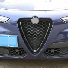 For Alfa Romeo Stelvio (17-19) ABS Carbon Fiber Front Grille Decoration Frame