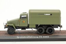 RARE IXO-ATLAS 1/43 IFA G5KO EAST GERMAN MILITARY REPAIR SHOP BODY 6x6 TRUCK