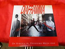 """DISCO 33 giri - """"    Diaframma – Da Siberia Al Prossimo Week-End  - 1990 . ITAL"""