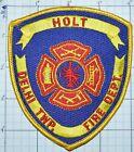 MICHIGAN, HOLT, DELHI TOWNSHIP FIRE DEPT PATCH