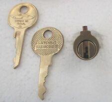 Vintage 1949 LINCOLN Trunk Cylinder Original '49 Cosmopolitan w/NOS Keys