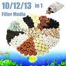 10/12/13 in 1 Bag Aquarium Fish Tank Pond Biological Ring Bio Ball Filter Media