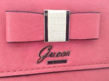 Women's GUESS Passion Pink DOLLED UP MINI Clutch Purse - $68 MSRP - 25% off
