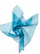 SEIDENTUCH himmelblau 55x55 cm Ponge 05 100% reine Seide auch für Seidenmalerei