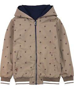 BOBOLI Boys Reversible Windbreaker Jacket, Sizes 4-16