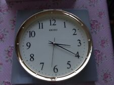 Seiko QXA417G Wall Clock Quiet Second Hand Office Home