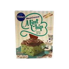 Pillsbury Cake Mix, Premium, mint chip 15.25 oz Limited Edition