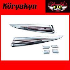 Kuryakyn Chrome Saddlebag Extensions 14'-17 Touring 7292