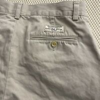 "Polo Ralph Lauren 32 x 9.5"" Prospect Short Stone Flat Front Twill Chino Shorts"