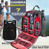 Waterproof DSLR Camera Backpack Shoulder Bag Case For Canon/Nikon/Sony 3 Colors