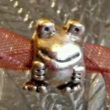 Authentic Pandora Frog Froggie Sterling Silver Charm Bead .925ALE #790247