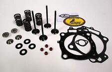 KibbleWhite Black Diamond Valves with Spring Kit, Seals, Gaskets  RM Z250 04-06