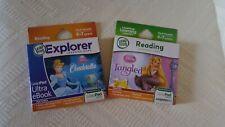New Leapfrog LeapPad Explorer Reading Cinderella Ebook Tangled Learning Games