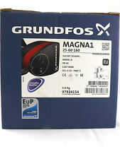 GRUNDFOS 97924154 MAGNA 1 25-60 180 SINGLE HEAD CIRCULATING PUMP DEL & VAT INC