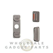 Buttons Mute Power Volume for Apple iPhone 4S CDMA GSM Buttons Click Select Push