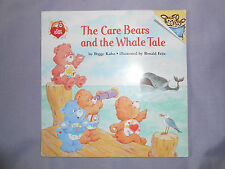 The Care Bears and the Whale Tale paperback children's book Vintage 1992