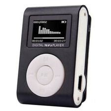 Mini Clip Mp3 Player Lcd Screen Support 32Gb Micro Sd Tf Card Radio Reader L8