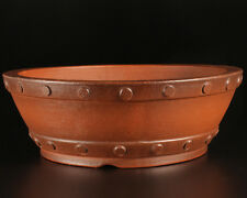 Yixing Exhibition Quality Hand Made Bonsai Pots (Tokoname Style)