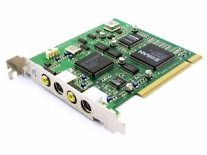 Pinnacle Systems Miro LAHVDRX-PCI-1 REDSD-660354-3.1 S-VIDEO-IN/Out Capture