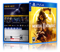 Mortal Kombat 11 - ReplacementPS4 Cover and Case. NO GAME!!