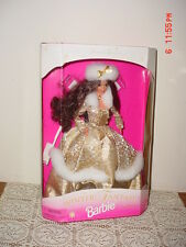 """1996 BARBIE """"WINTER FANTASY"""" DOLL/BURNETTE/SPECIAL EDITION/#15530/CLEARANCE!"""