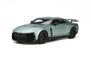 1:18th NISSAN GT-R 50 resin model road car light green 2021 GT SPIRIT GTS 284