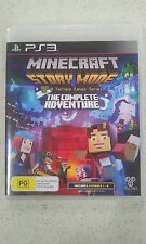 Minecraft Story Mode The Complete Adventure PS3 Game Brand New