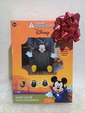 New Disney Mickey Mouse Halloween Push-Ins Decoration Pumpkin