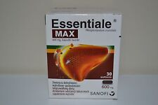 Essentiale Forte Max 600mg 30 Capsules  Double Liver Protection Exp. 10/2019