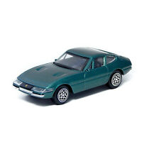 1968 Ferrari 365 GTB 4 Daytona Green Bburago 1/43 11818 1:43 Collectible Toy Car