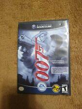 James Bond 007: Everything or Nothing (Nintendo GameCube 2004) Complete! Black