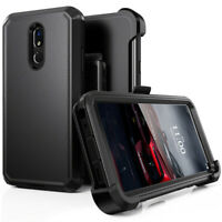 For LG Stylo 4/ Stylo 5  Case Cover W/ Screen & Belt Clip Fits Otterbox Defender