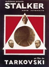 Stalker (1979) Andrei Tarkovski movie poster print 24x33 inches