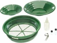 7pc Prospecting Gold Panning Kit Gold Pans Sifting Pan Classifiers & MORE!!!