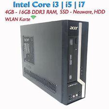 Acer Veriton X4620G SFF Core i3/i5/i7 4-16GB RAM 128-1TB SSD,HDD Win10 Office PC