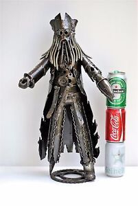 Davy Jones (54 cm high) Metal Sculpture Pirates of the Caribbean Gifts For Him
