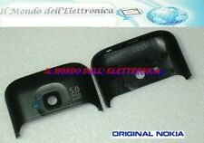 COVER GUSCIO COPRI ANTENNA CAMERA ORIGINALE NOKIA C5 C5-00 5MP BLACK NERO