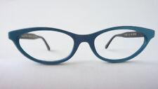 Ausgefallene Brillen türkis DamenGestelle große Cateye Fassung spitze Form Gr. M