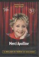 Meilleur Du Theatre De Boulevard Dvd 31 Merci Apolline Annie Cordy Guy Tréjean