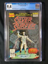 Silver Surfer Annual #2 CGC 9.4 (1989) - Silver Surfer #1 cover homage