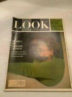 October 24 1961 Look Magazine Marlene Dietrich