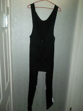 Mens Crane cycling padded brace trousers size large 44/46 sportswear