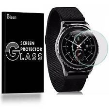 Samsung Gear S3 Frontier /Classic [BISEN 3-PACK] Tempered Glass Screen Protector
