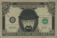 Breaking Bad Poster - HEISENBERG 1 MILLION DOLLAR BILL - TV poster PP33492
