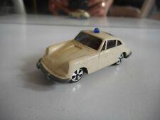 Faller Hit Car Porsche 911 S Polizei in White