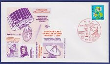 JAPAN - Satellit MS-T 5 SAKIGAKI - Halleyscher Komet - Sonderumschlag - 1986
