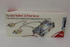 Intel Pcla2221 Netport Ii Print Server 306514-004 In Retail Box